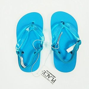 The Children's Place Turquoise Sandals Sz 8-9